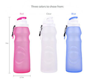Silicone-Collapsible-Water-Bottle-BPA-Free-Leak-Proof-Perfect-for-Outdoor-Travel