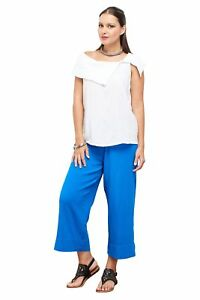 Clothing, Shoes & Accessories Oh My Gauze Sammy Capri Pant 100% Comfortable Cotton Lagenlook
