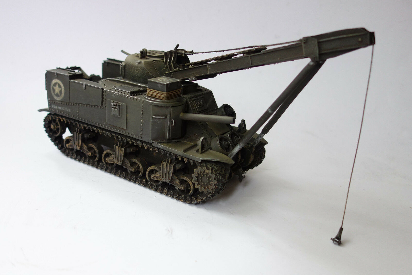 Figarti Miniatures US M3 Recovery Vehicle + Crew , 1 30 ETA-002 Limited Edition
