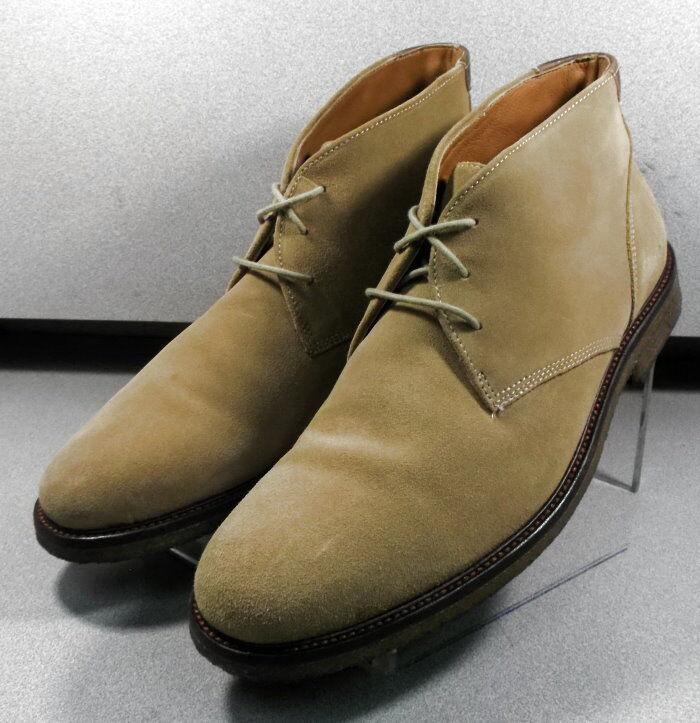 252336 pfbt40 scarpe da uomo taglia 9 9 9 m di luce tan stivali scamosciati johnston  murphy f70a83