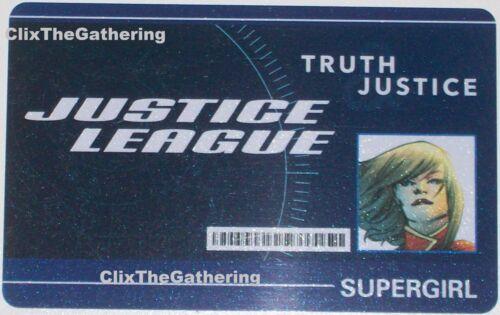WFID-012 SUPERGIRL World's Finest DC HeroClix ID CARD