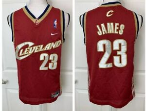 innovative design a877c f9926 Details about LEBRON JAMES Nike Cleveland Cavaliers Basketball Jersey Size  YOUTH Medium Lakers