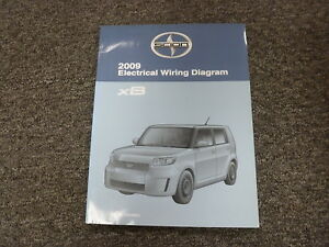 image is loading 2009-scion-xb-wagon-shop-service-electrical-wiring-