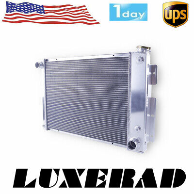 3-Row//CORE Aluminum Radiator For Chevrolet Camaro RS SS V8 Pontiac Fire L6 67-69