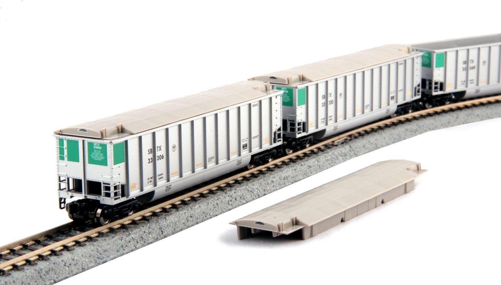KATO KATO KATO 1064653 N Scale Bethgon Predein Gondola 8-Car Set SBTX 106-4653 784cc1