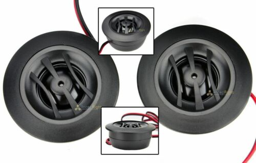 Orion Tweeters Car Audio 4 Ohm Pair 200W Dome Tweeter Set Surface Flush Mount