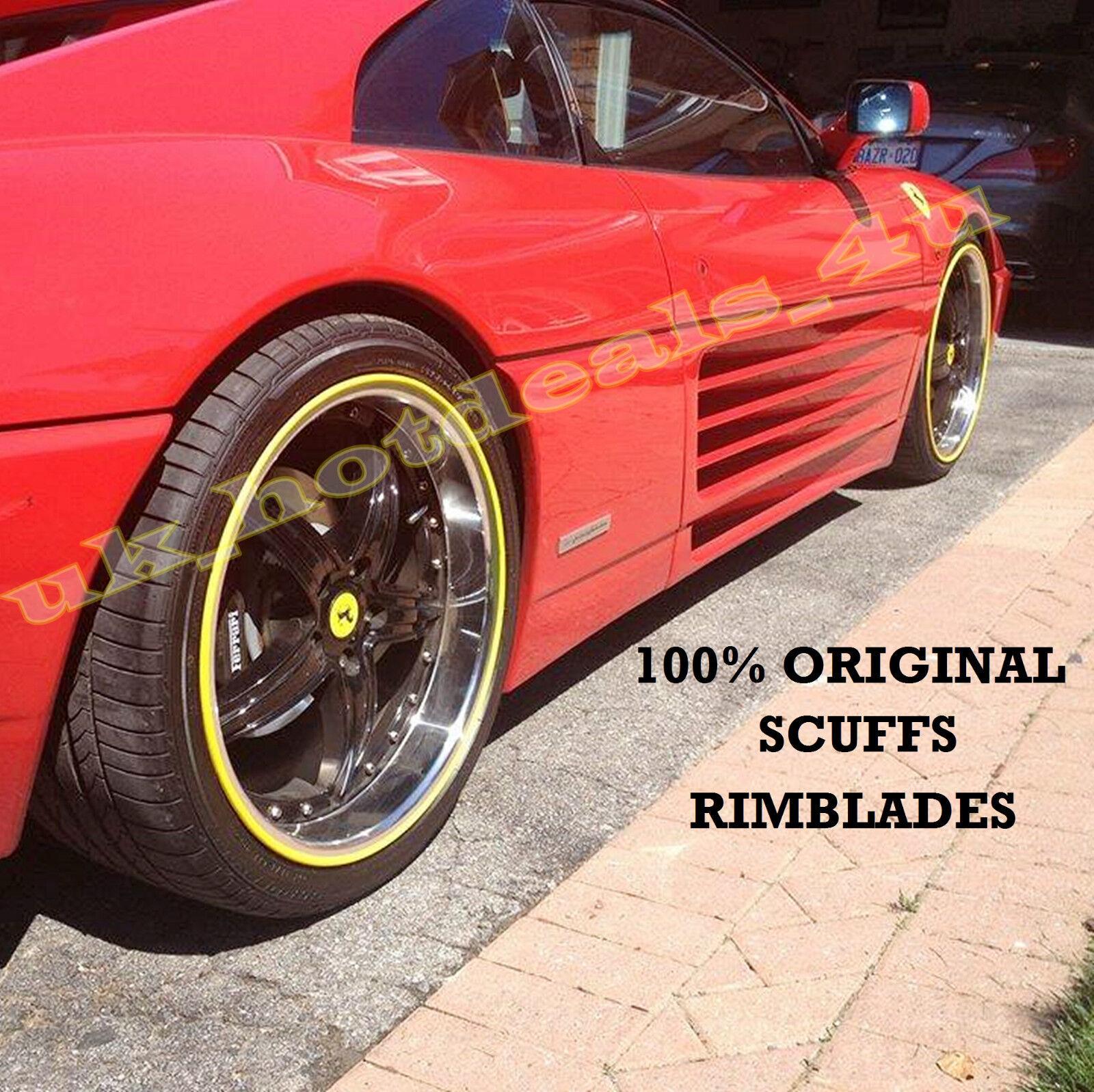 100/% Original desgastes por Rimblades Coche Tuning Aleación Rueda Llanta Neumático Protector