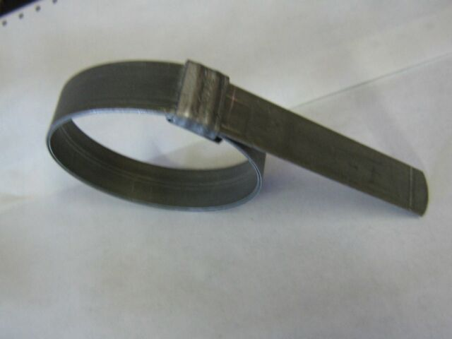 Band Clamp Min.Dia.9//16In. PK10 SS