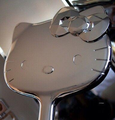 LARGE Authentic NIB Hello Kitty Shiny Metallic Handheld Mirror Sephora Exclusive