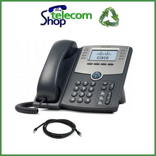 Cisco SPA508G IP Phone in Black