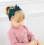 Baby-Kids-Children-Girls-Christening-Shower-Bow-Elastic-Hair-Head-band-Headband thumbnail 2