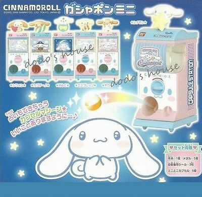 Sanrio Japan Cinnamoroll Chiffon Mini Gashapon Vending Machine