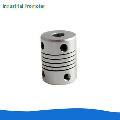 Inner Diameter: 5X6.35mm Power Transmission 1Pc Aluminium Flexible Coupling CNC Stepper Motor Shaft Coupler Br 5//6//6.35//8//10//12//12.7mm Od25 L30 3D Printer Encoder Connector