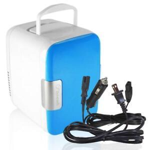 Zone-Tech-12V-Mini-Portable-Car-Fridge-Electric-Cooler-Warmer-Refrigerator-AC-DC