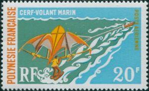 French-Polynesia-1971-Sc-C73-SG133-20f-Paragliding-MNH