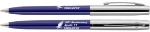 50th anniversary APOLLO 11 pen BLUE Fisher Space Pen blister carded S251