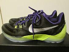 Nike Kobe Venomenon 5 Black Purple Volt Basketball Shoes Sz 10.5 749884-005