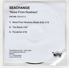 (GI920) Seachange, News From Nowhere - DJ CD