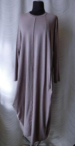 Oska Lagenlook Jersey Maxi Dress Size 3 Long Sleev