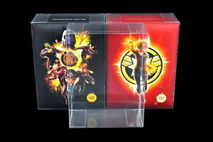 SCF18 Blu-ray Steelbook Protectors for Zavvi Collector's Box Sets (Pack of 1)