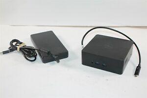 Dell TB16 Thunderbolt 3 USB-C Docking Station K16A K16A001 w/ AC Adapter