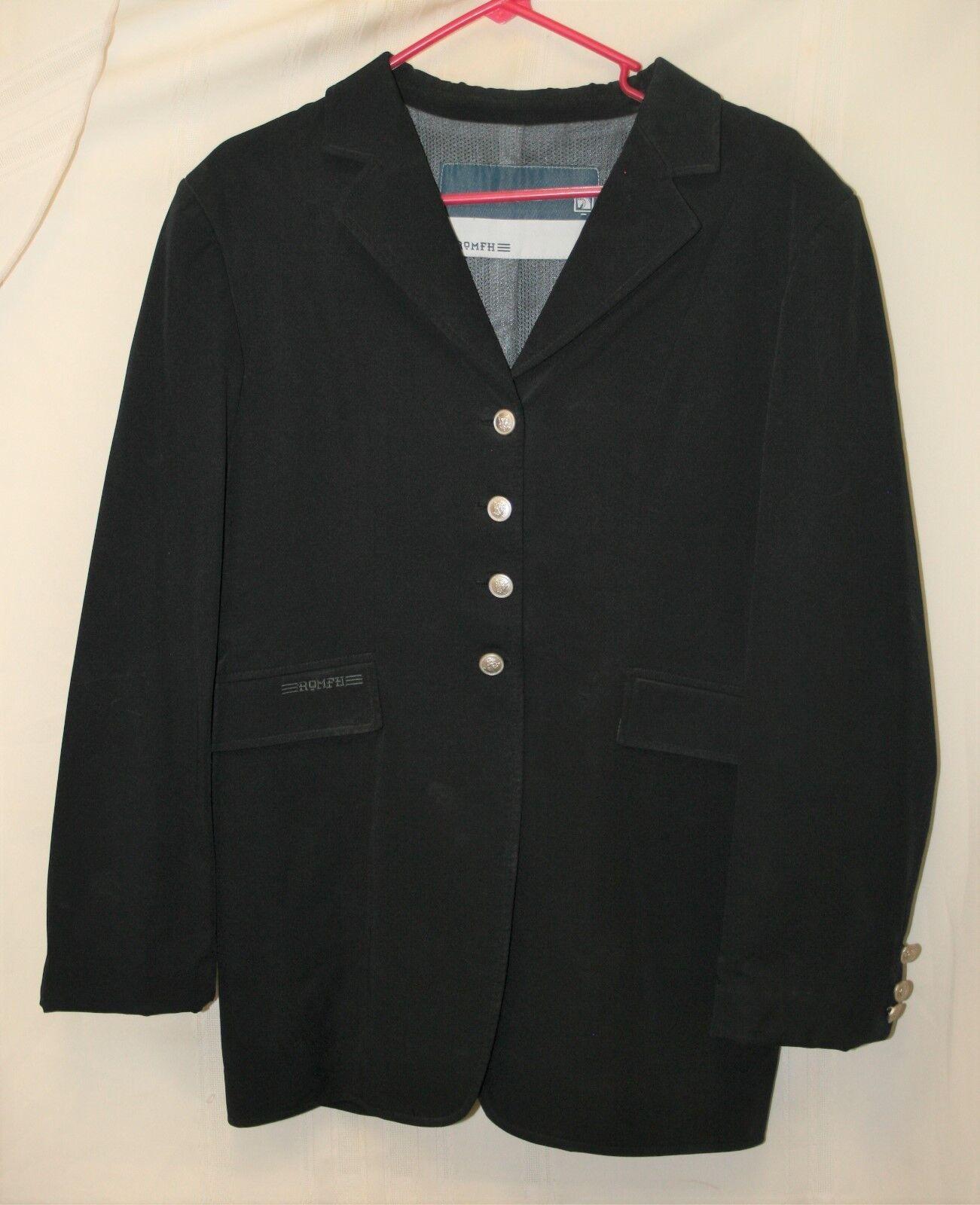 USED Romfh Dressage Show Coat - Size 14