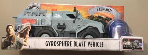 Jurassic World Fallen Kingdom Large New Gyrosphere Blast Vehicle  2018 IN STOCK