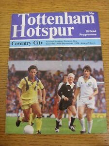 30091978 Tottenham Hotspur v Coventry City  Folded Very Creased - Birmingham, United Kingdom - Returns accepted within 30 days after the item is delivered, if goods not as described. Buyer assumes responibilty for return proof of postage and costs. Most purchases from business sellers are protected by the Consumer Contr - Birmingham, United Kingdom