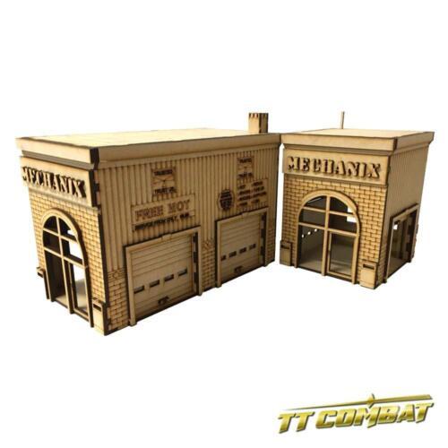 TTCombat Mechanix Garage City Scenics 28-30mm scale