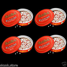 4 X 10gm Baba Elaichi Silver Coated Saffron Blended Cardamom Seeds Best Price