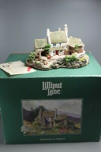 Lilliput-Lane-HIGH-GHYLL-FARM-635-Boxed-With-Deeds