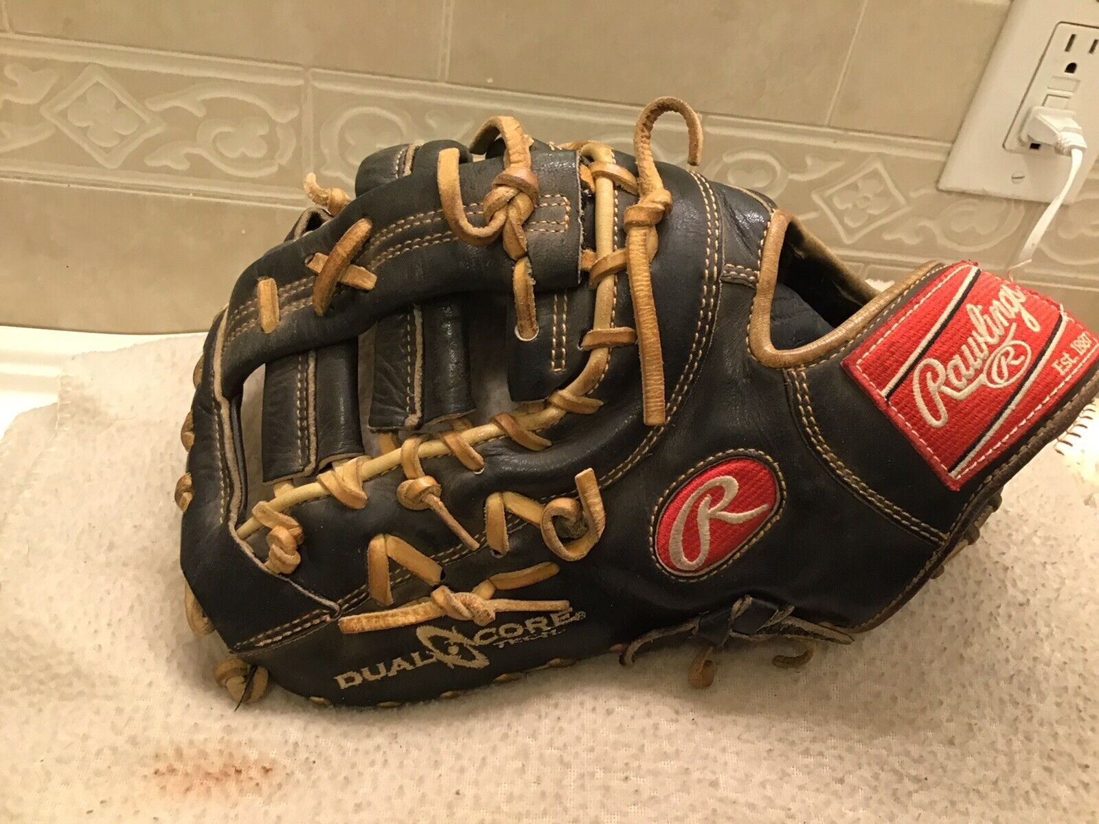 Rawlings PRODCTDCC 13  Baseball Softball First Base Mitt Left Hand Throwing