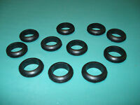 (10) 3/4 Bore Rubber Grommets - Electrical Wiring, Tubing Protection