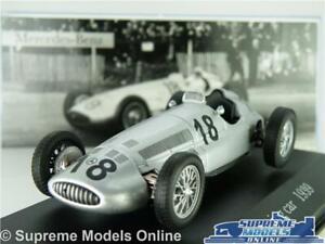 MERCEDES-Benz-W-154-Auto-da-Corsa-Modello-1-43-Taglia-Argento-W154-1939-IXO-FORMULA-1-T3