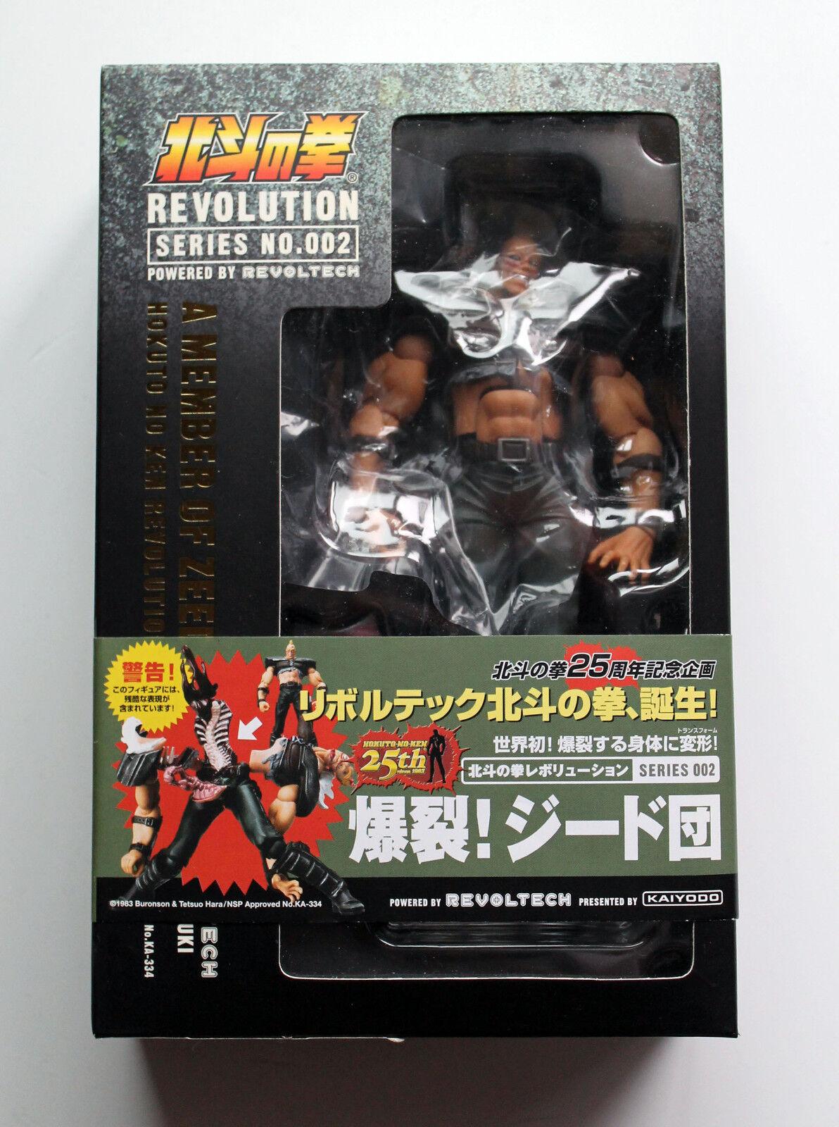 Kaiyodo REVOLTECH 002 Zeed / Zeta - Ken il guerriero HOKUTO NO KEN