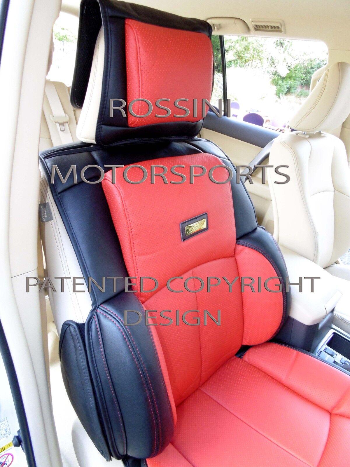 Autositzbezüge passend für BMW 4er YS01 Recaro Sport schwarz I