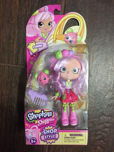 Shopkins Shoppies Pommie Doll Shopkin Pammy Pom Pom New Free Shipping!