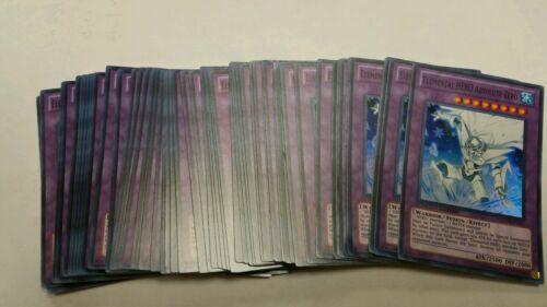 3x Yuigoh Elemental hero absolute Zero GENE-ENSE1 mint pack fresh playset x3