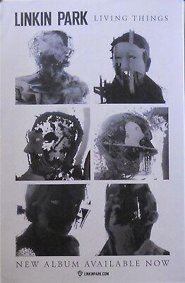 Linkin Park Living Things Poster W2 Ebay