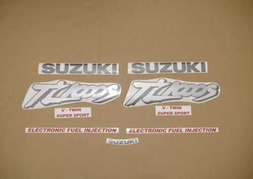 TL 1000S 98-99 complete decals stickers graphics kit set transfers autocollants