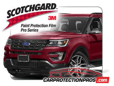 3M Pro Series Clear Bra Bumper Paint Protection Kit fits 2019 NISSAN 370Z Base
