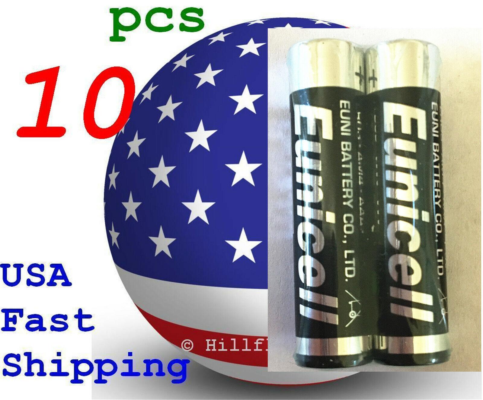10 pcs Size AAA LR3 LR03 0% Hg Heavy Duty Bulk 1.5V Alkaline Battery