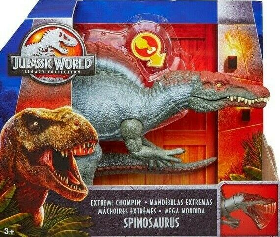 Jurassic World Legacy Collection Extreme Chompin' Spinosaurus Very Very Very Rare  NEW   cc7743