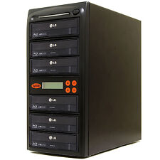 5 Burner Blu Ray CD DVD 16X Duplicator Copier Mdisc Systor copy Machine System