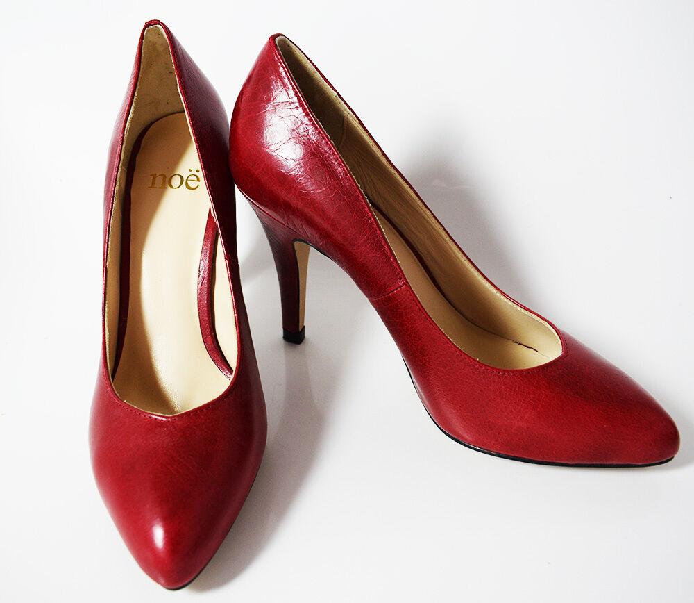 NOE Talon Haut Femmes Escarpins Cour Chaussures 4 in (environ 10.16 cm) Chaussures à talon