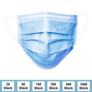 Mundschutz-3-lagig-Einweg-Gesichtsmaske-Schutzmaske-Mund-Nasen-Schutz-Maske