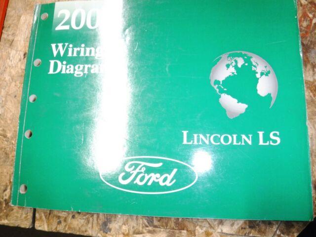 2004 Lincoln Ls Original Factory Wiring Diagrams Manual