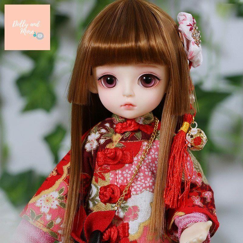 Muñeca recast BJD SD Doll Linachouchou Macaron 1 6 tiny cute lati kawaii fullse
