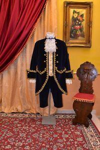 Abito-Storico-Costume-di-Scena-Abito-d-039-Epoca-Costume-Storico-Stile-1700-cod-930