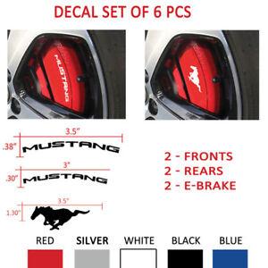 TESLA Brake Caliper Set Vinyl Sticker Decal Logo Overlay Graphic 12pc